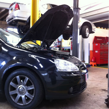 friendly car servicing